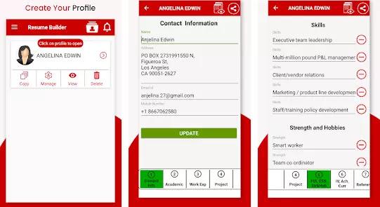 Aplikasi Membuat CV Lamaran Kerja Gratis Terbaik di Android-2