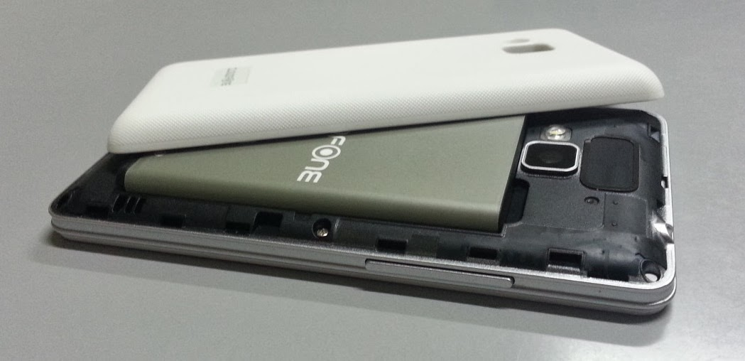 CloudFone Thrill 400qx Battery and Back Cover