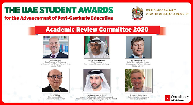 UAE Student Awards Attract World's Top Engineering Universities on 2020 Academic Review Board
