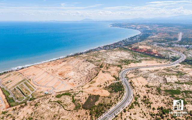 Bình Thuận đang thu hút nhiều dự án BĐS nghỉ dưỡng quy mô lớn dọc ven biển