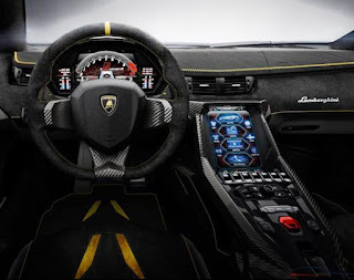 2016 Lamborghini Centenario Cabin and Interior