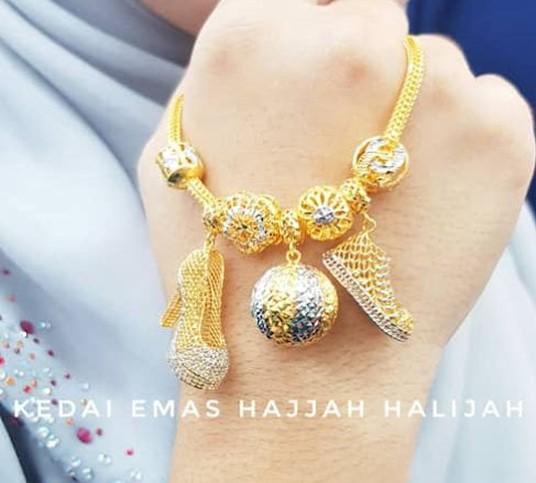 Kedai Emas Hajjah Halijah tawar kadar diskaun pembelian emas dengan upah tinggi guna online telegram