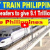 TB | Bullet Train Philippines - European leaders to invest 9.1 trillion Euro to the Philippines!PANOORIN