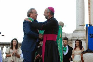 Risultati immagini per treia visita del vescovo a settembre 2014