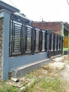 contoh pagar besi minimalis model 2