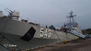 Open Ship KRI Teluk Cirebon 543 Tumbuh Kembangkan  Jiwa Bahari  Dan Wawasan Kemaritiman