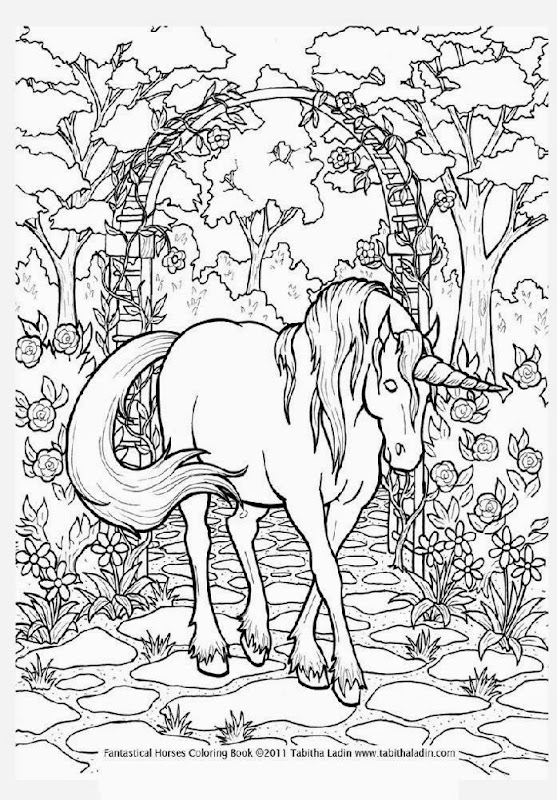 11 unicorn coloring pages  Printable and Colors