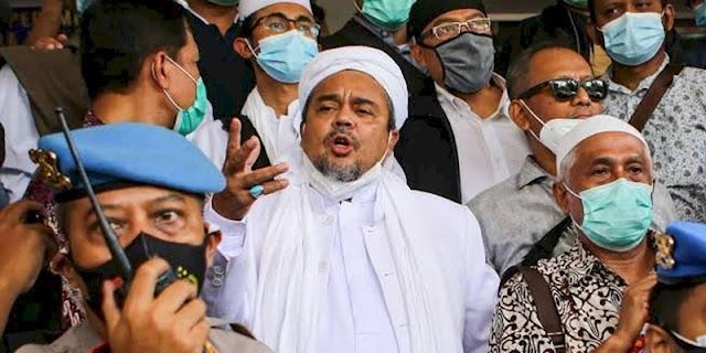 Kerumunan Megamendung Dipidanakan, Habib Rizieq: Ada Yang Mengarahkan?
