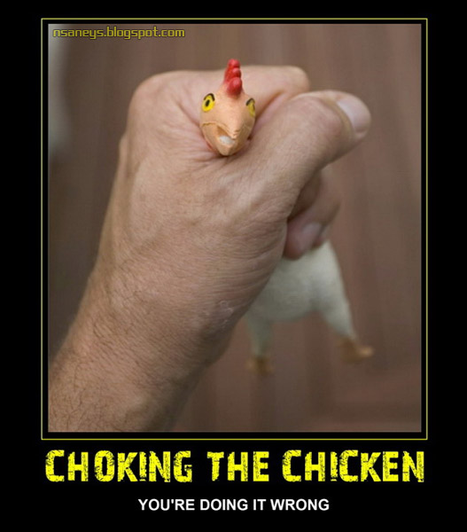 Hot Choking The Chicken