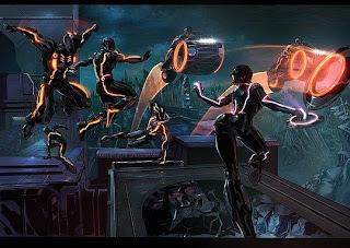 Ilustración de acción
