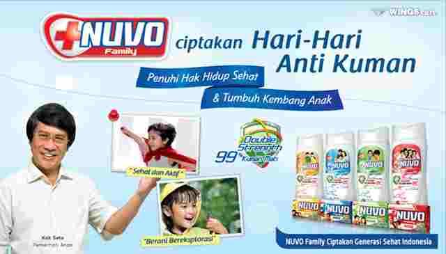 Iklan Sabun Nuvo