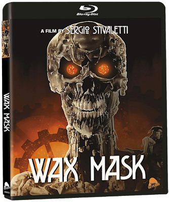 Reversible cover art for Severin Films' Limited Edition release of THE WAX MASK!