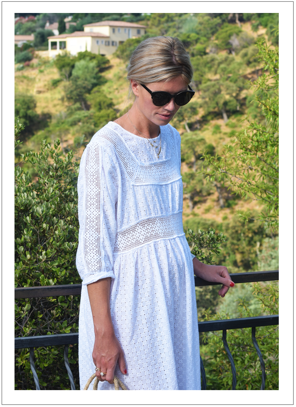 Outfit of the day, N°21, bettina Vermillon, Minitials, Anne Zellien, Mia Zia, Dior, Dewolf, ootd, style, fashion, blogger, dress, midi, maternity, pregnancy, summer