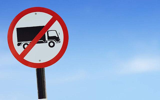 """Πλήρη διακοπή της κυκλοφορίας παντός είδους φορτηγού στη Μεσσηνία λόγω του """"Ιανού"""""""