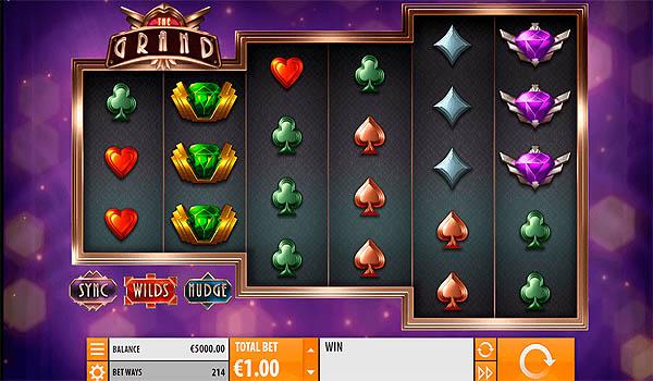 Main Slot Gratis Indonesia - The Grand (Quickspin)