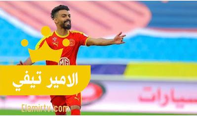 القادسية يرد على عرضي الشباب والتعاون لضم العمري