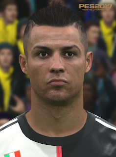 PES 2017 Faces Cristiano Ronaldo by Love01010100