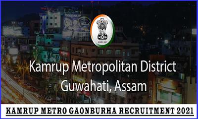 Kamrup Metro Recruitment 2021 - Gaonburha vacancy