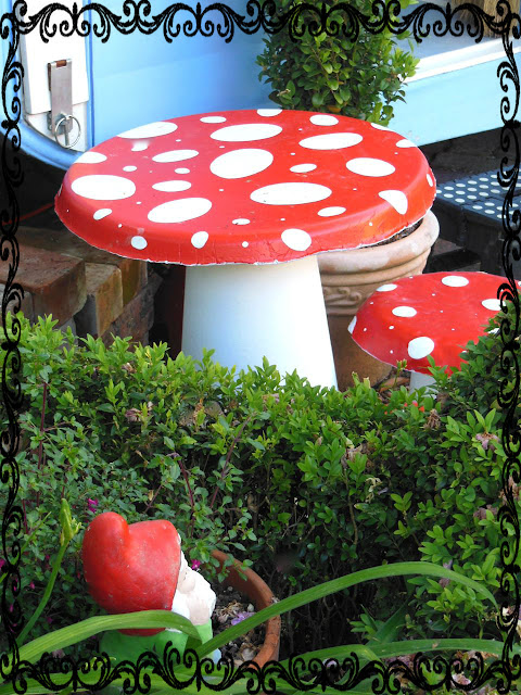 Nome Garden: An Angel In The Garden: Dr G.Nome Of Toadstool House & The