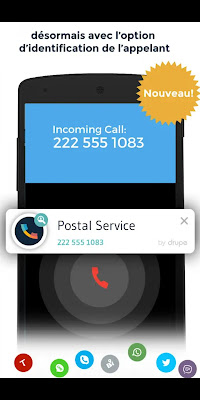 Contacts Phone Dialer: drupe 3.049.00004-Rel pour Android