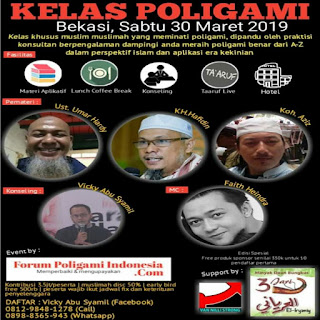 Kelas Poligami Bekasi 2019