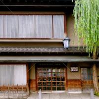 大阪心斎橋 すき焼き北むらの銅製軒行灯看板
