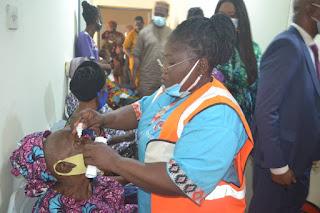 1, 500 Ogun Residents Get Free Eye Surgery