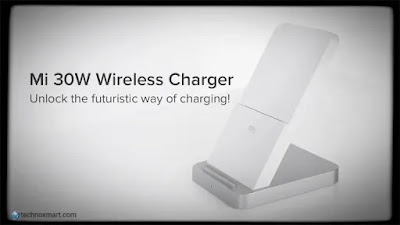 xiaomi mi 30w wireless charger launch