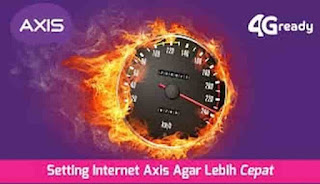 4G APN Settings To Overcome Slow Axis Internet