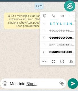 como puedo cambiar el tipo de letra en whatsapp
