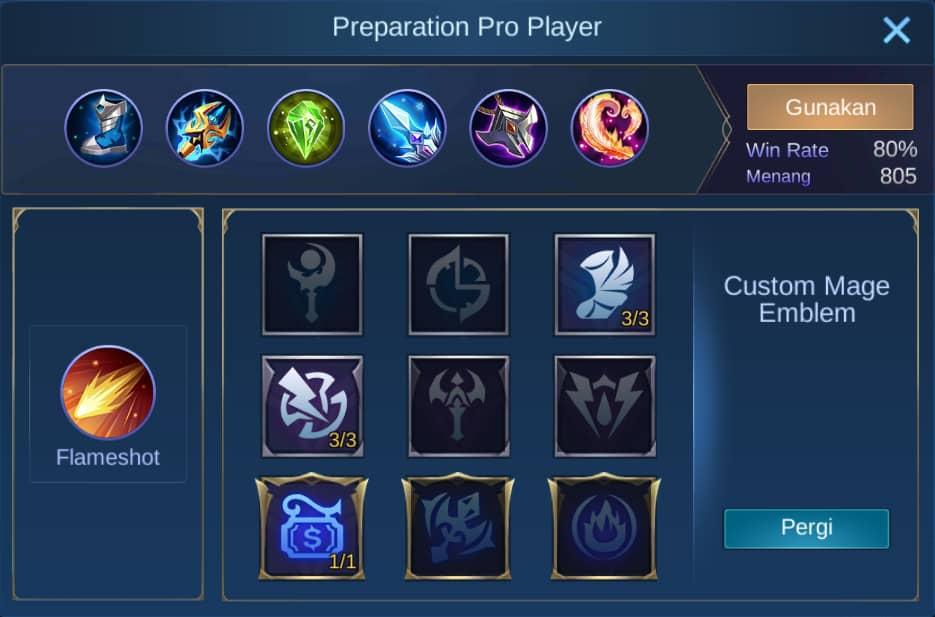 build item faramis mobile legends (ML)
