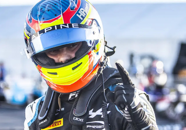 Oscar Piastri pole Sochi F2 R6