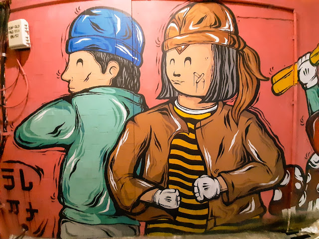 Wisata malam Solo, Menikmati mural street dan keroncong night (4) - jurnaland.com