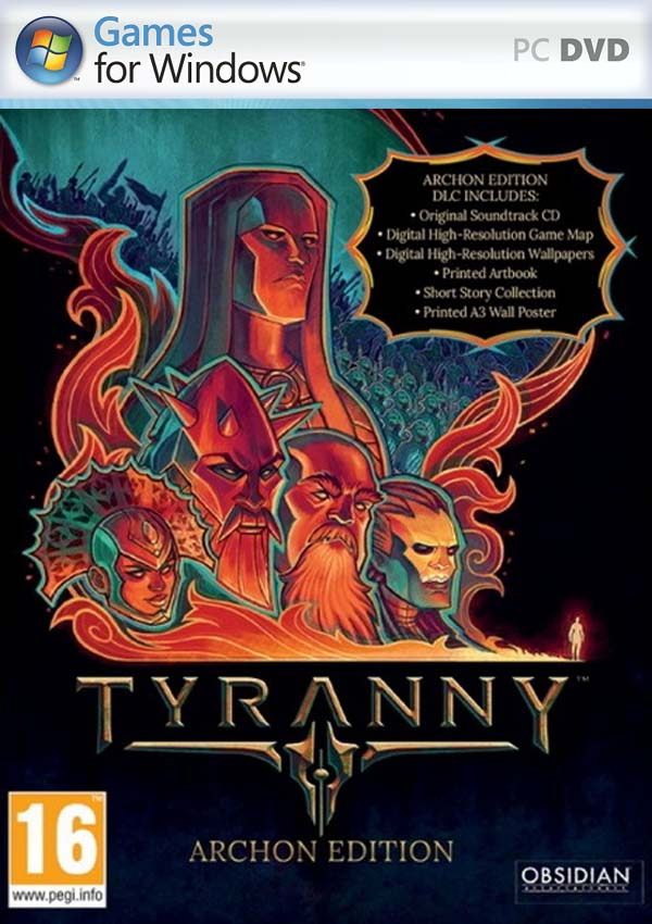 Tyranny Download Cover Free Game