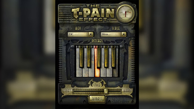 Interface do plugin The T-Pain Effect - iZotope