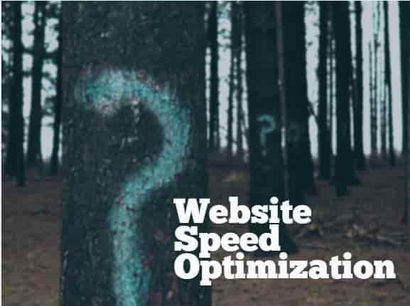 why Website speed Optimization