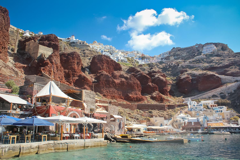 Amoudi Villas Breathtaking Amoudi Bay In Santorini Ang Kaladkarin