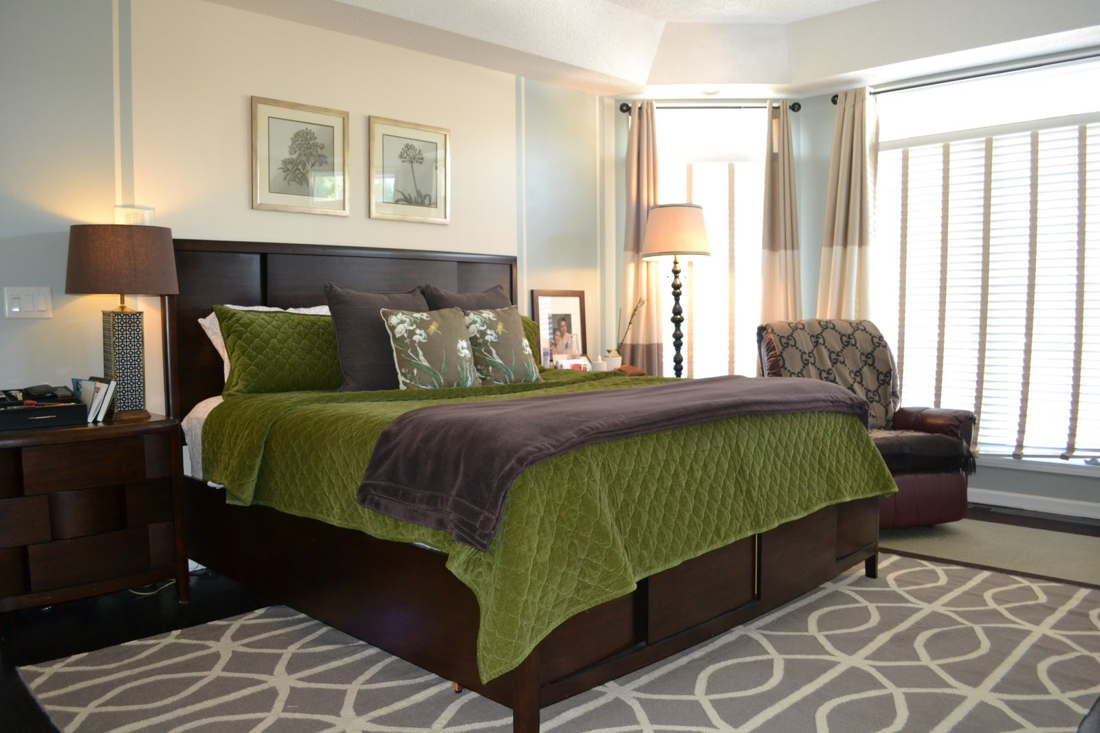 Remodelaholic Gorgeous Master Bedroom Makeover