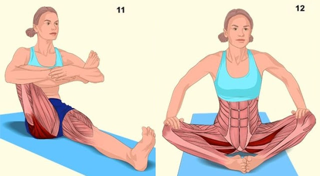 18 Pictures That Show You Exactly What Muscles You Are Stretching