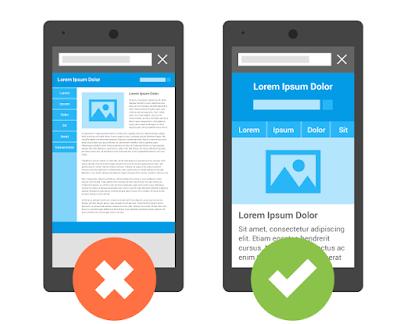 Imagen explicativa de Google sobre Mobile Index First