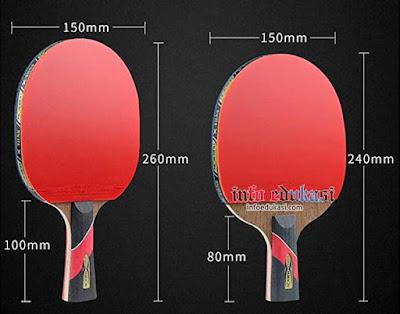 Gambar Bet/Raket Tenis Meja Beserta Keterangannya