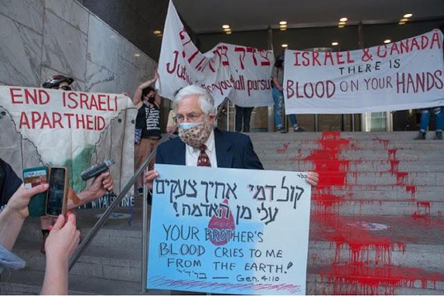 Sikap Tidak Tulus dan Munafik I5rael Terus Berlanjut, Organisasi Yahudi Protes Kekerasan di Ga2a