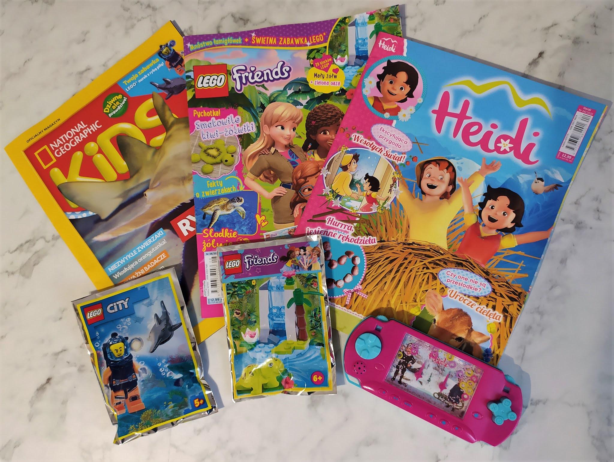 Dziecięce czasopisma z ulubionymi bohaterami - Blue Ocean
