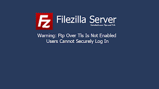 Ftp Over Tls Is Not Enabled, Users Cannot Securely Log In