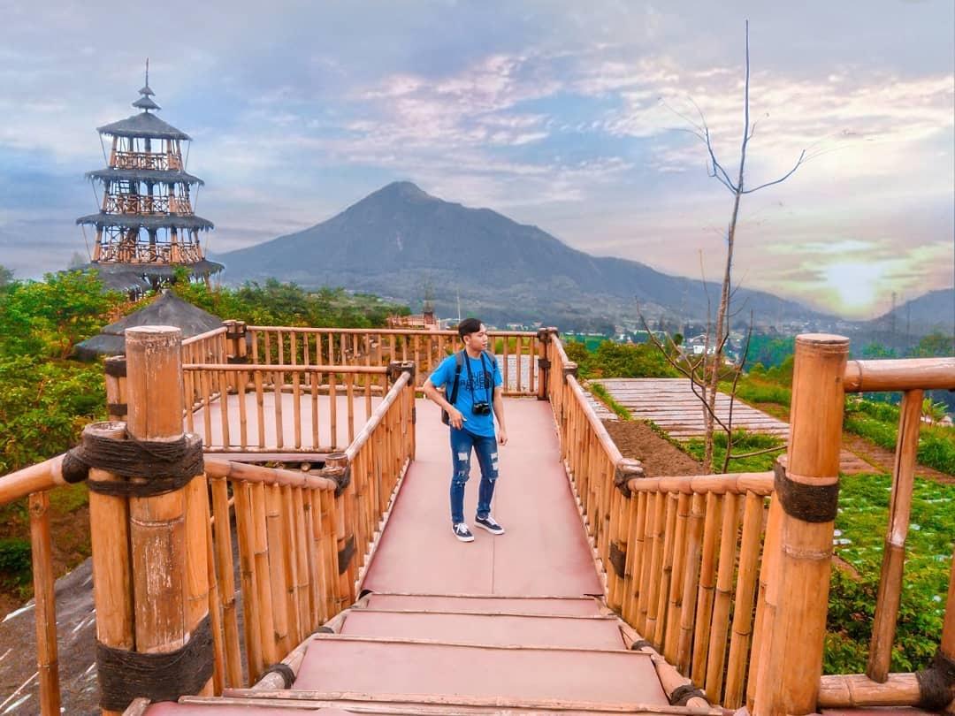 Taman Wisata Kopeng Semarang, Indah + Instagramable