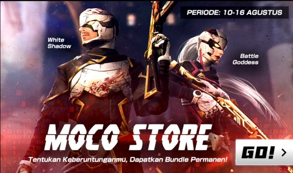 Event Terbaru Free Fire Moco Store Battle Goddess