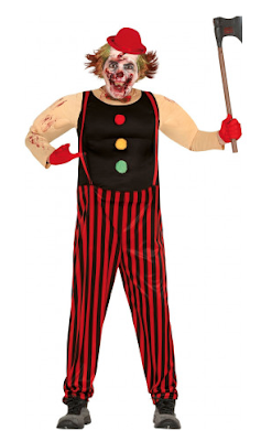 halloween heren kostuum horror clown