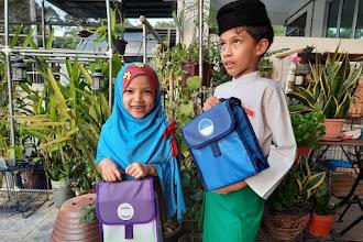 Bugzbagz - personalized nama anak di beg bekal & beg pelbagai guna