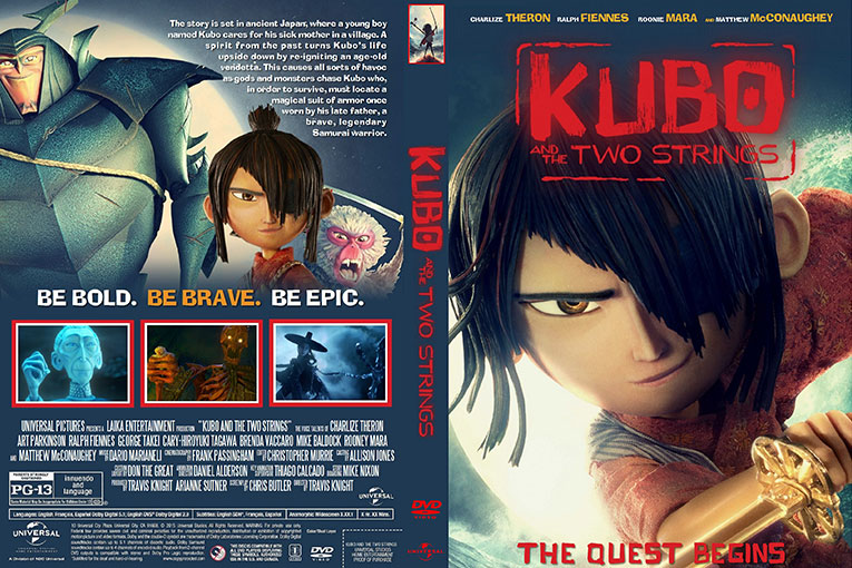 Kubo and the Two Strings (2016) 720p BrRip [Dual Audio] [Hindi 5.1+English]