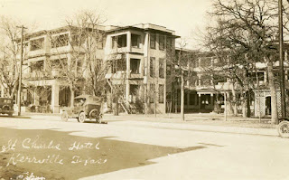 Kerrville's St Charles Hotel, around 1923